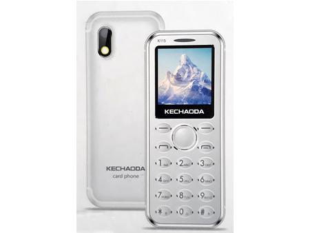 dfc29f18bd1 Kechaoda K115 Credit Card Size Mobile Phone Price in Pakistan ...