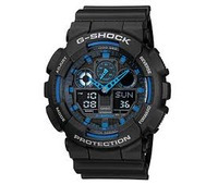 Casio G-Shock GA-100-1A2DR Price in Pakistan, Specifications, Features, Reviews